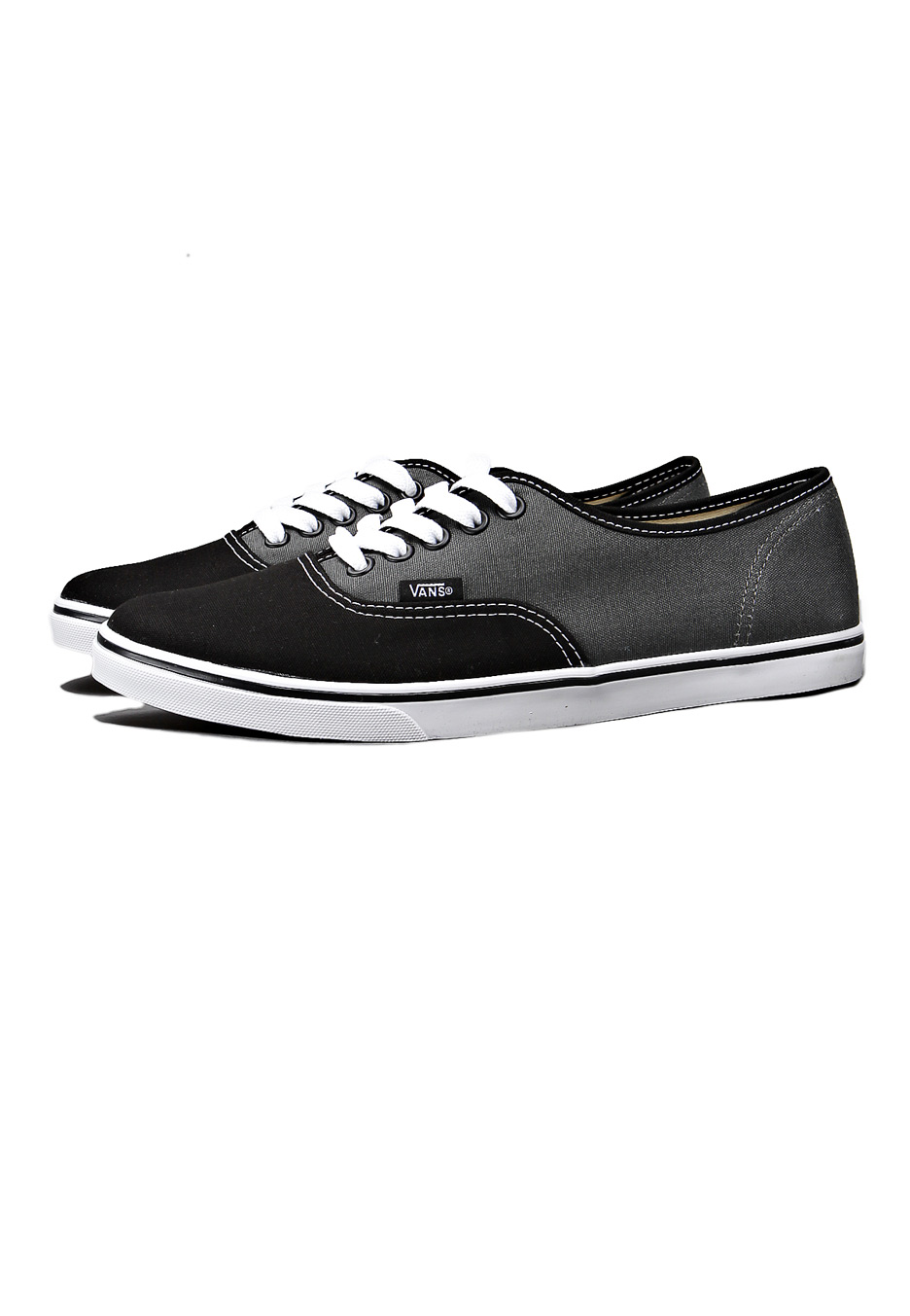 44b823ad0a1e ... Vans - Authentic Lo Pro 2 Tone Black Dark Shadow - Girl Shoes ...