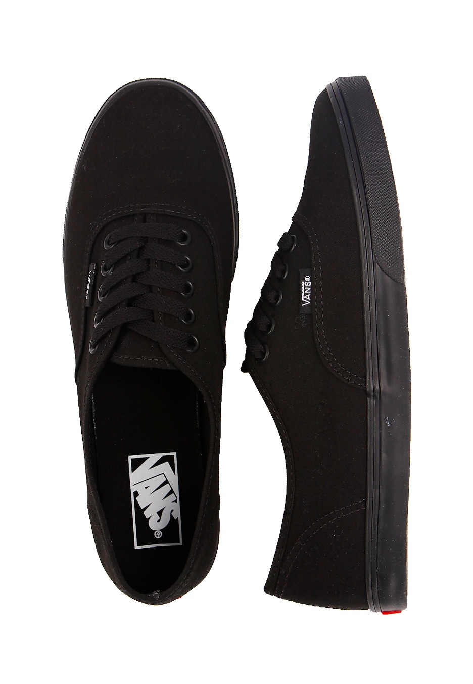 Vans - Authentic Lo Pro Black/Black - Girl Shoes - Impericon.com Worldwide