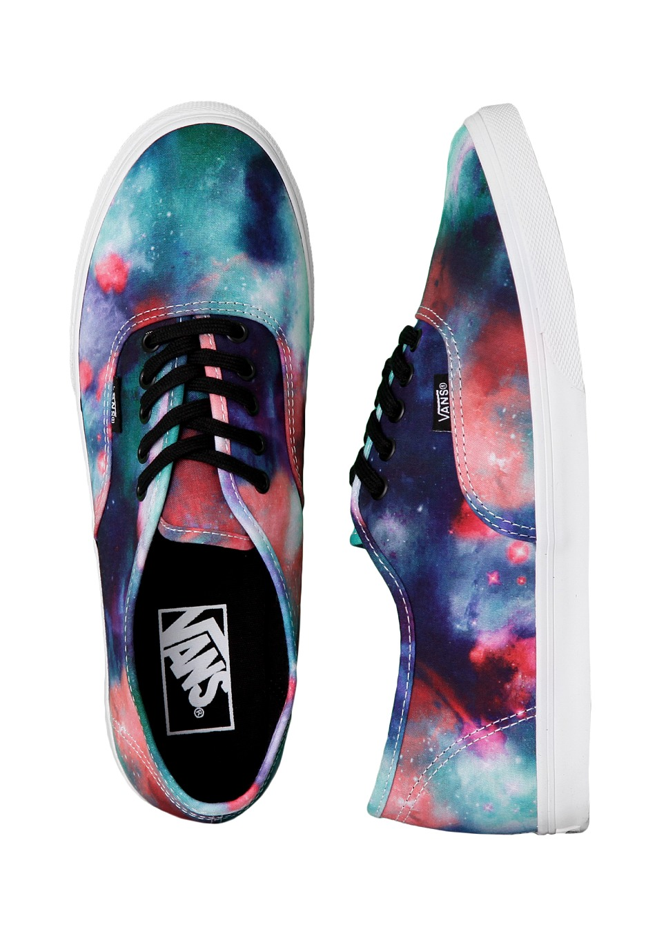 Vans - Authentic Lo Pro Galaxy Nebula True White - Női cipő ... 7216eaef05