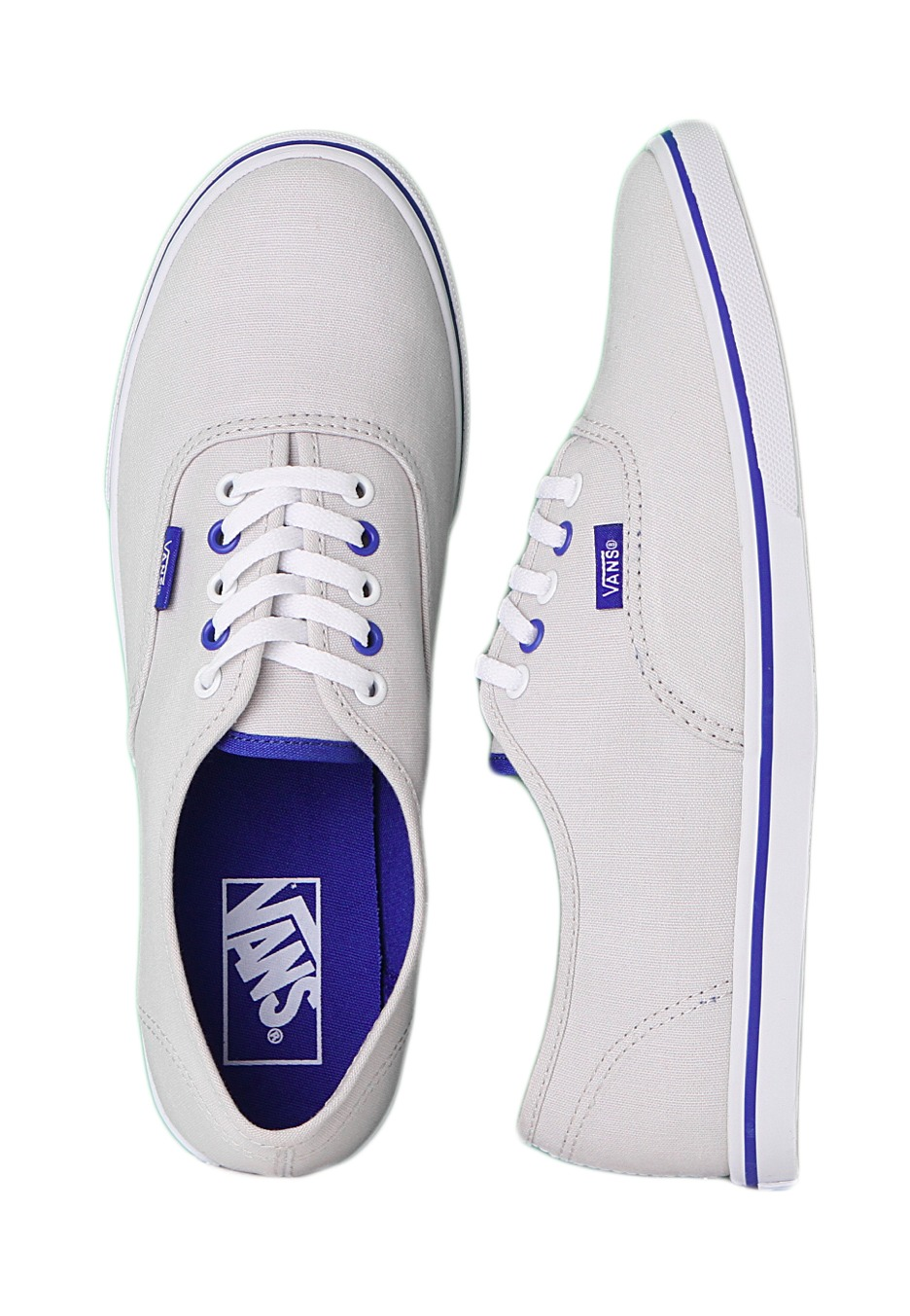 94155c4edf Vans - Authentic Lo Pro Lunar Rock True White - Girl Shoes - Impericon.com  Worldwide