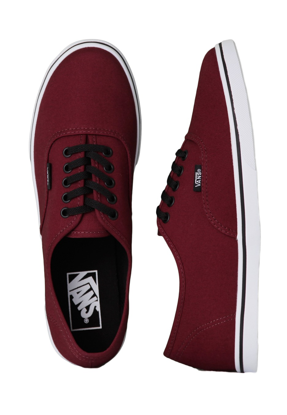 4f7b65f63340 Vans - Authentic Lo Pro Tawny Port True White - Girl Shoes - Impericon.com  UK