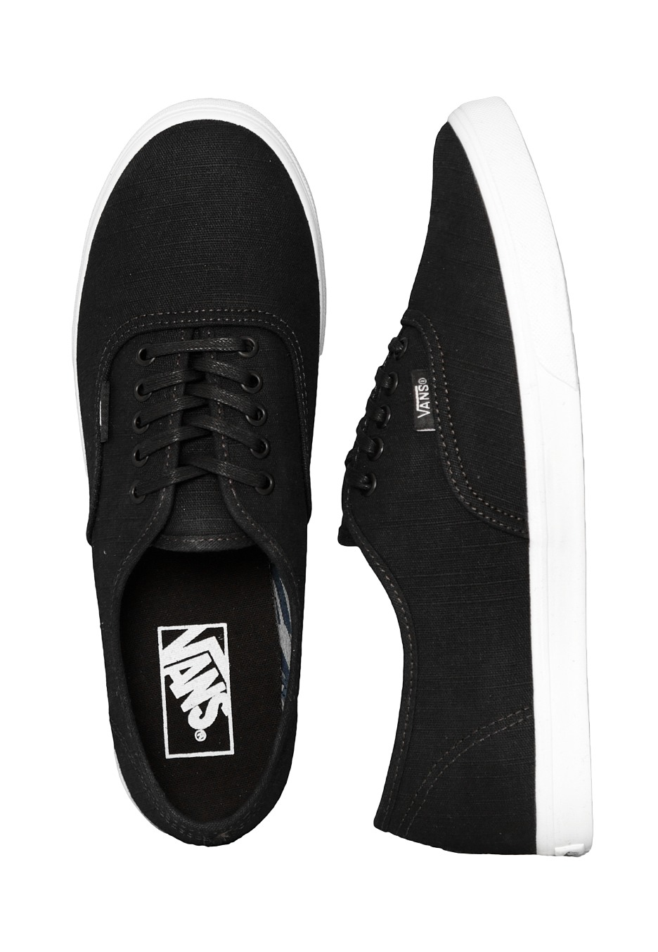 Vans - Authentic Lo Pro Indigo Tropical Black True White - Girl Shoes -  Impericon.com UK 3881e04dc