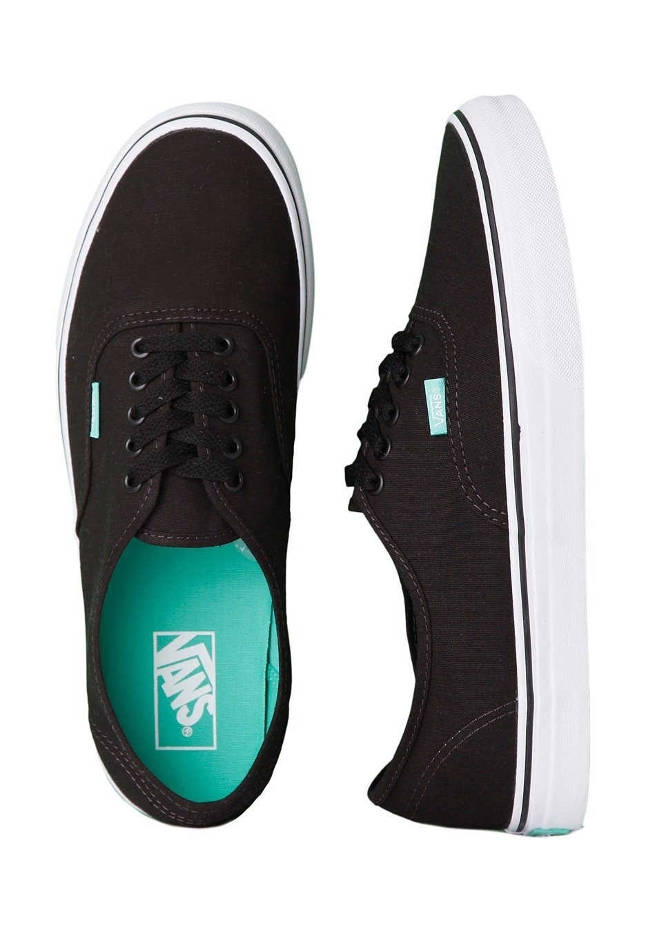 bbd622499f4f Vans - Authentic Pop Black Aqua Green - Shoes - Impericon.com Worldwide