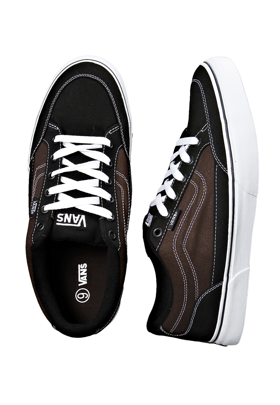 1dfc2fa4a5 Vans - Bearcat Canvas Black/Espresso - Shoes - Impericon.com UK