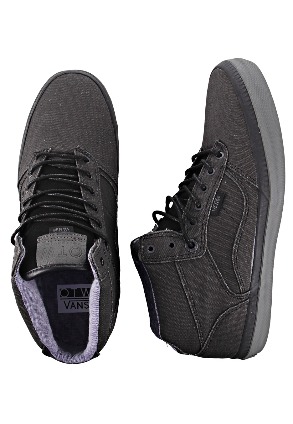 6186e3d4db Vans - Bedford Black Pewter - Shoes - Impericon.com Worldwide