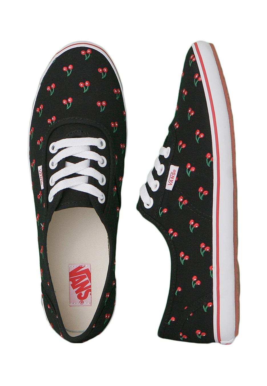 Vans - Cedar Cherries - Girl Shoes - Impericon.com UK