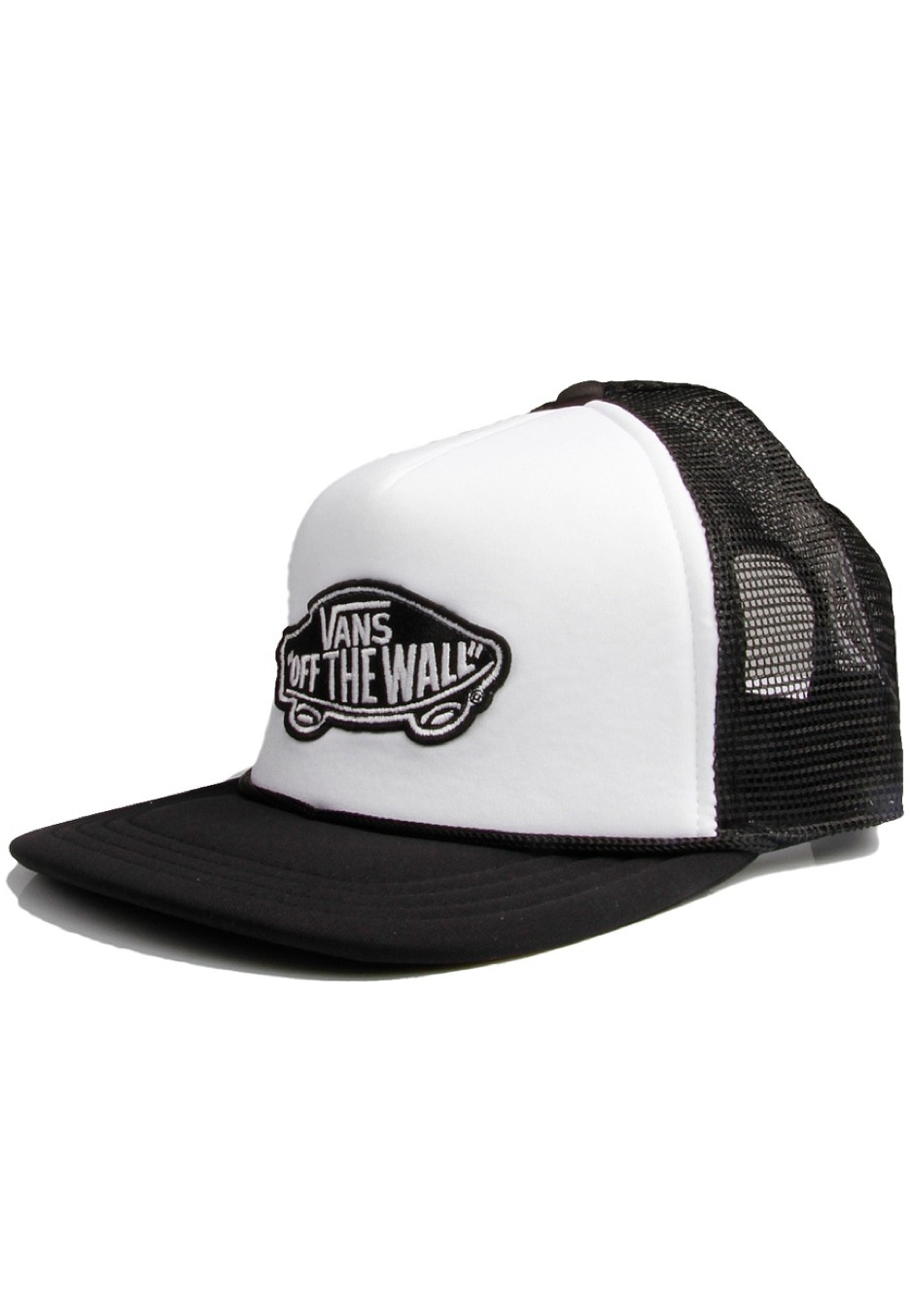 Vans - Classic Patch Trucker White/Black - Caps
