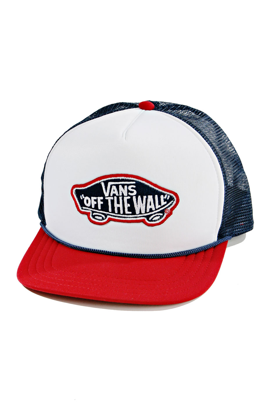 b38191fbfa7 Vans - Classic Patch Trucker Red Blue - Trucker Cap - Impericon.com  Worldwide