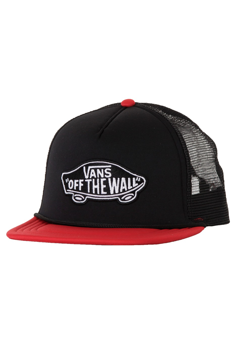 b2262888e4d Vans - Classic Patch Trucker Black Reinvent Red - Cap - Impericon.com UK