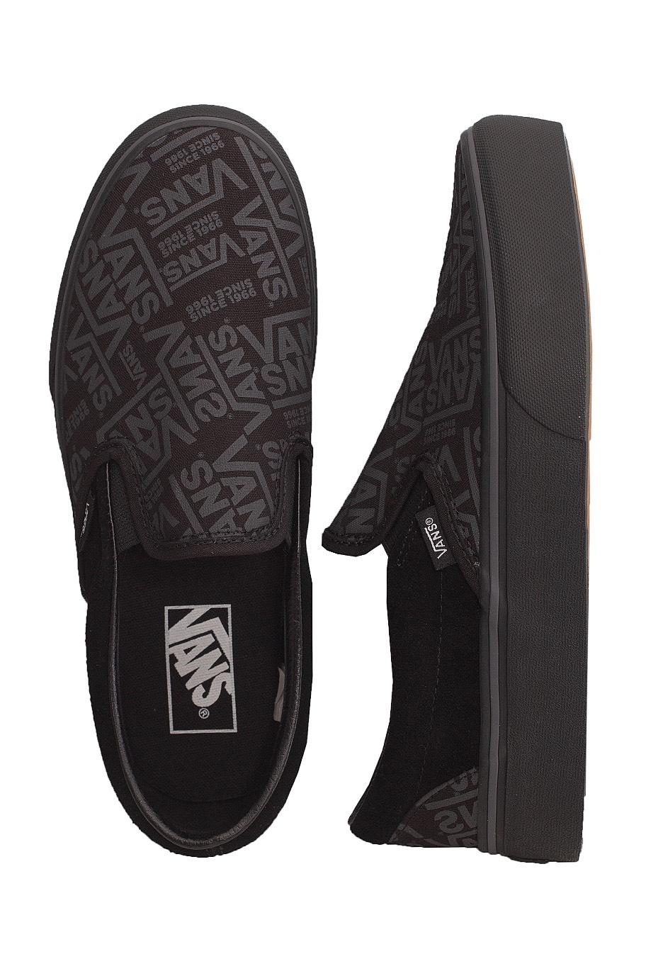 Vans Classic Slip On P Vans 66 Black Shoes Impericon Com Worldwide
