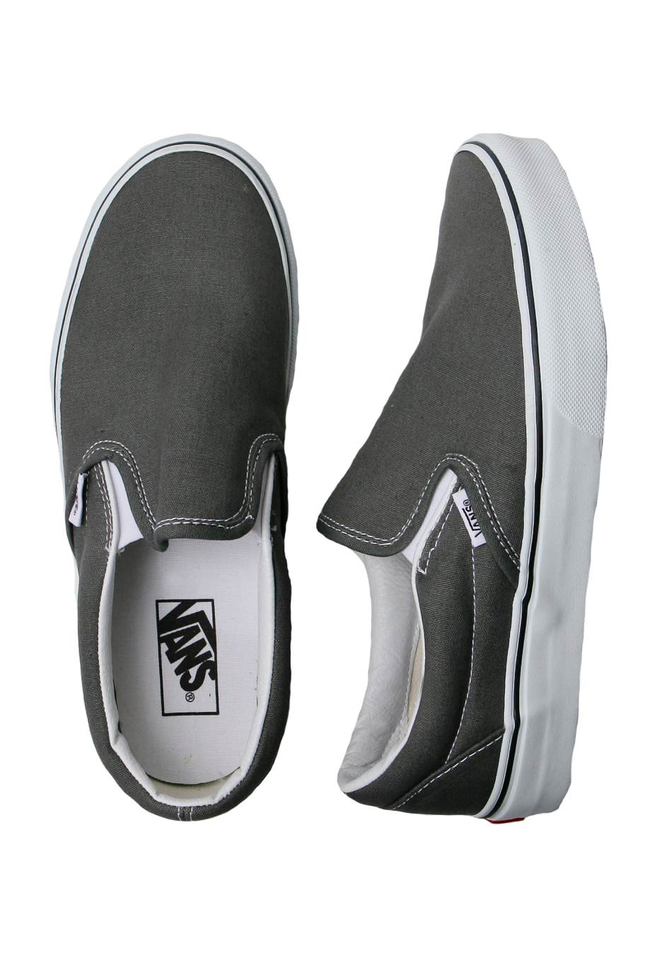 416e8098f8 Vans - Classic Slip-On Charcoal - Shoes - Impericon.com UK