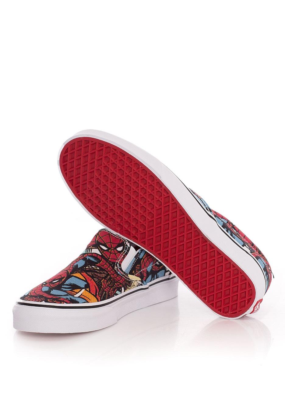 Classic Shoes x On Marvel Spiderman Slip Marvel Vans ETAfnwqA