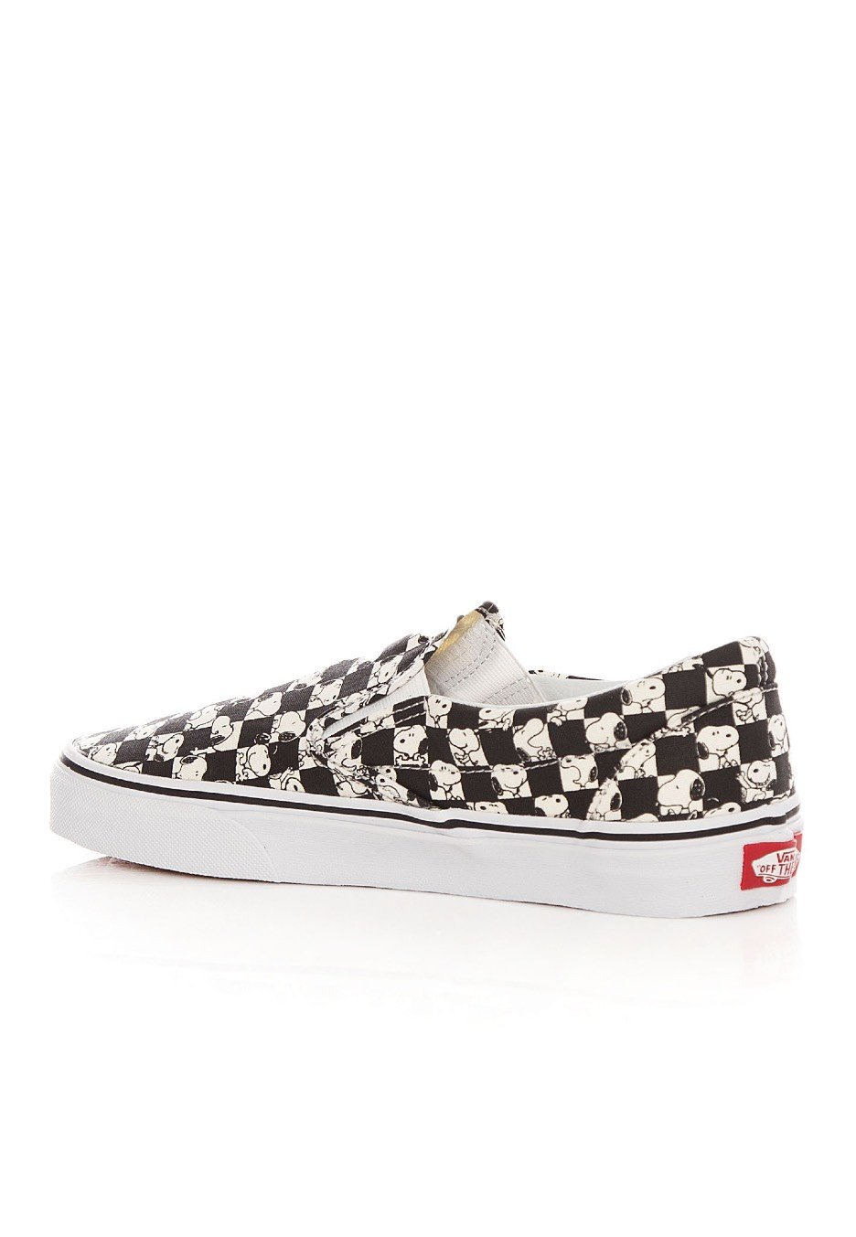 Vans X Peanuts - Classic Slip-On Peanuts Snoopy/Checkerboard ...