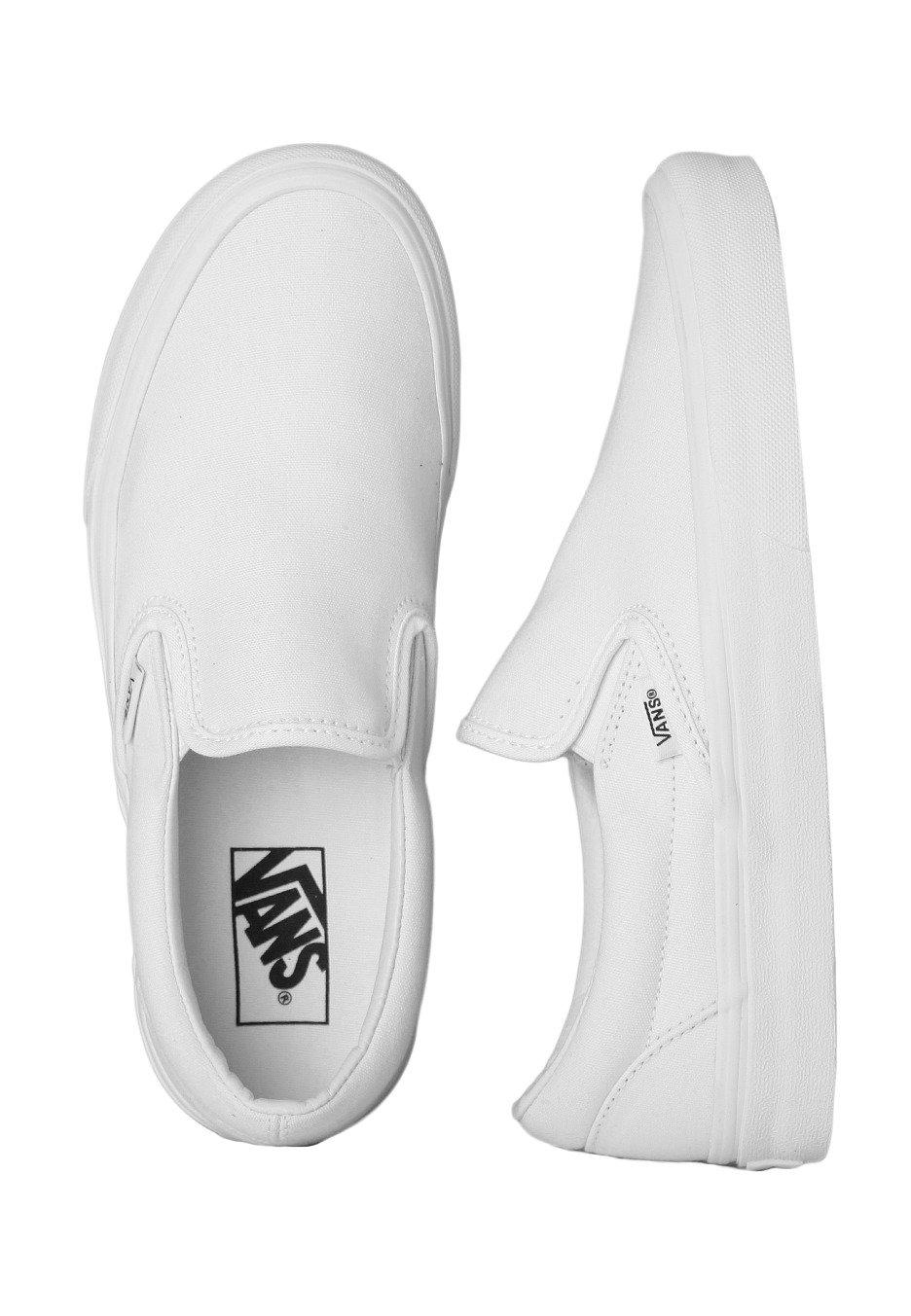 all white vans for girls