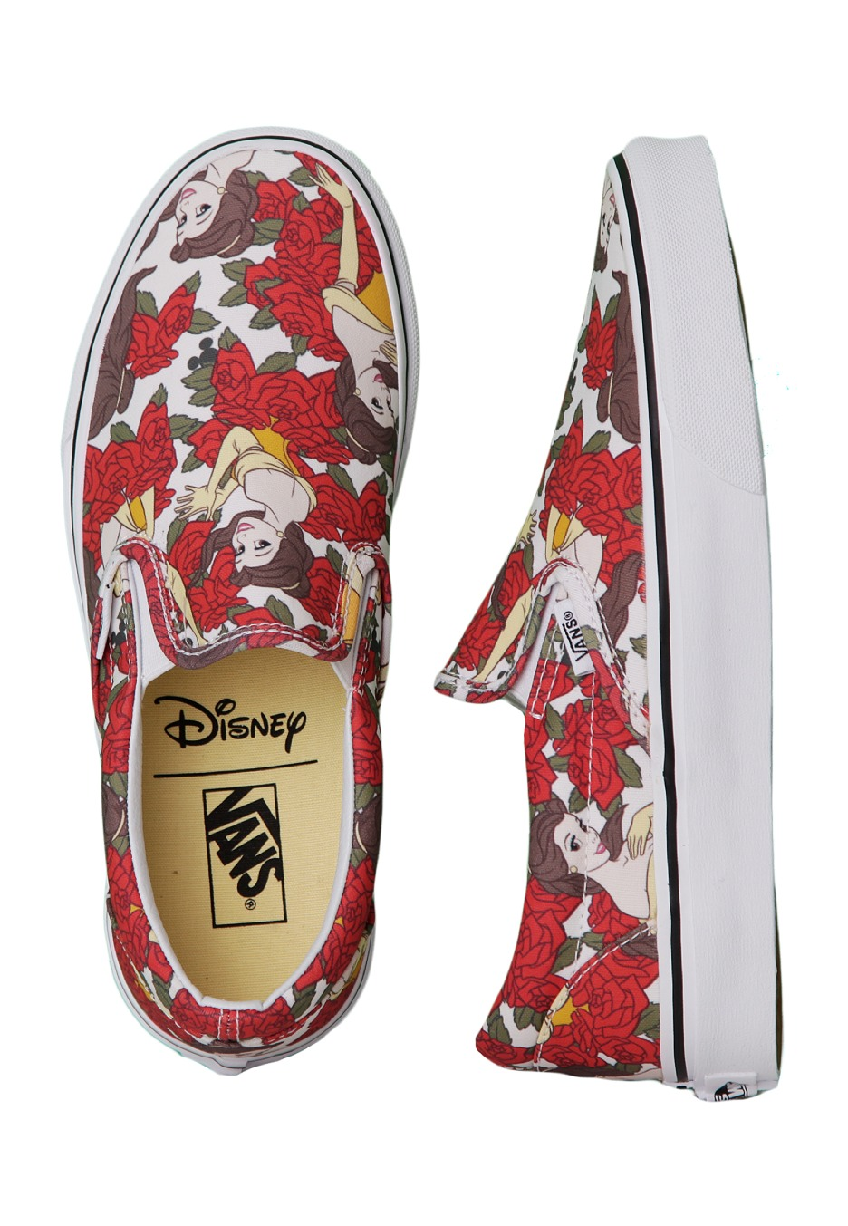 ce48b39a57 Vans - Classic Slip-On Belle True White - Girl Shoes - Impericon.com UK