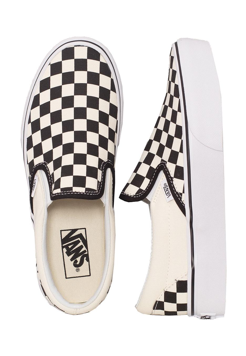vans checkered for girls