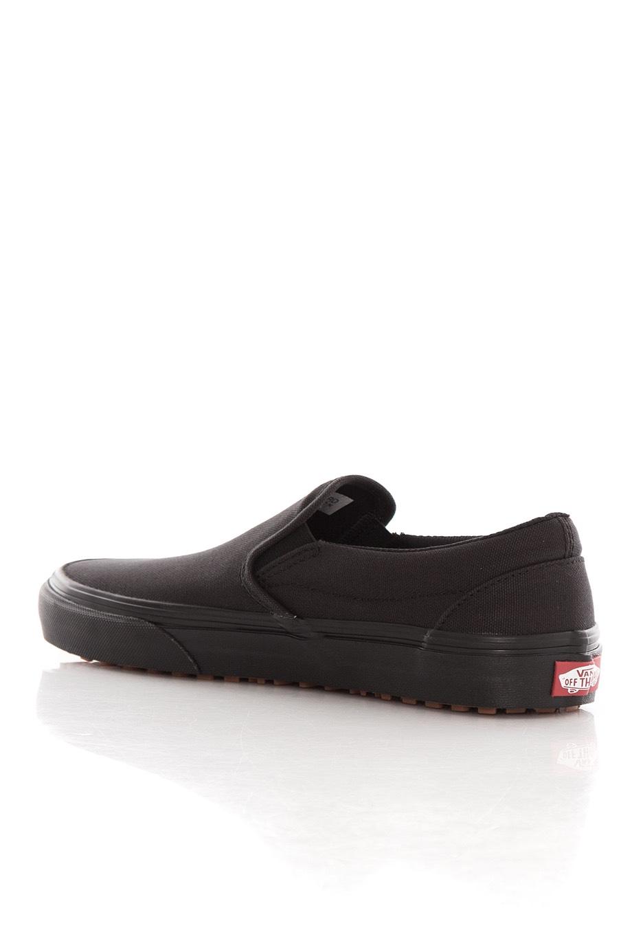 black slip on van