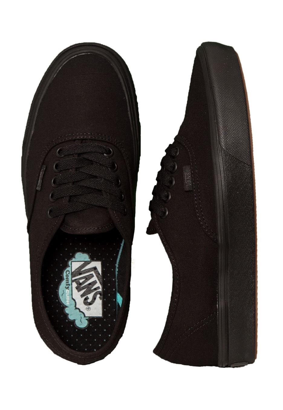 527f5e70a311 Vans - ComfyCush Authentic Classic Black Black - Shoes - Impericon.com UK