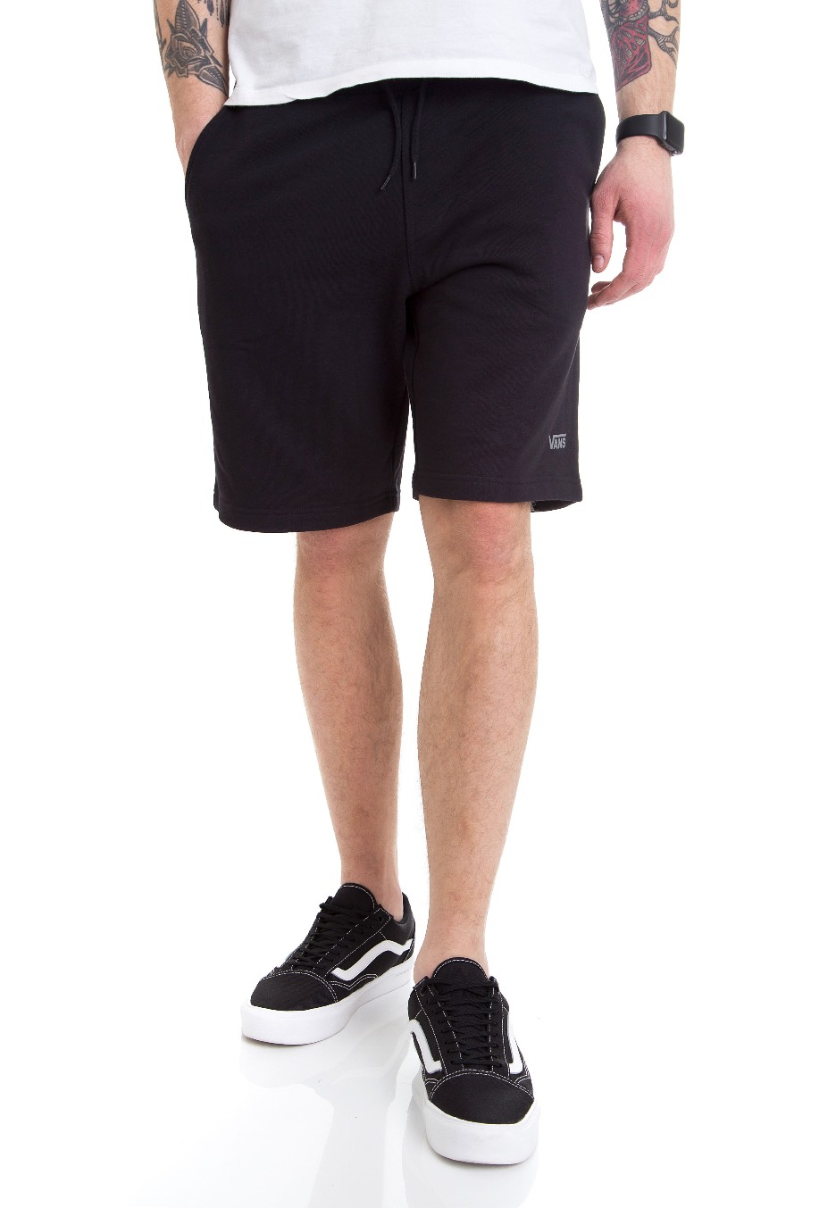 b4fe5417e104b4 Vans - Core Basic Fleece Black - Shorts - Impericon.com US
