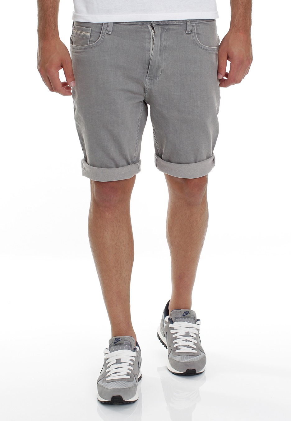vans grey shorts