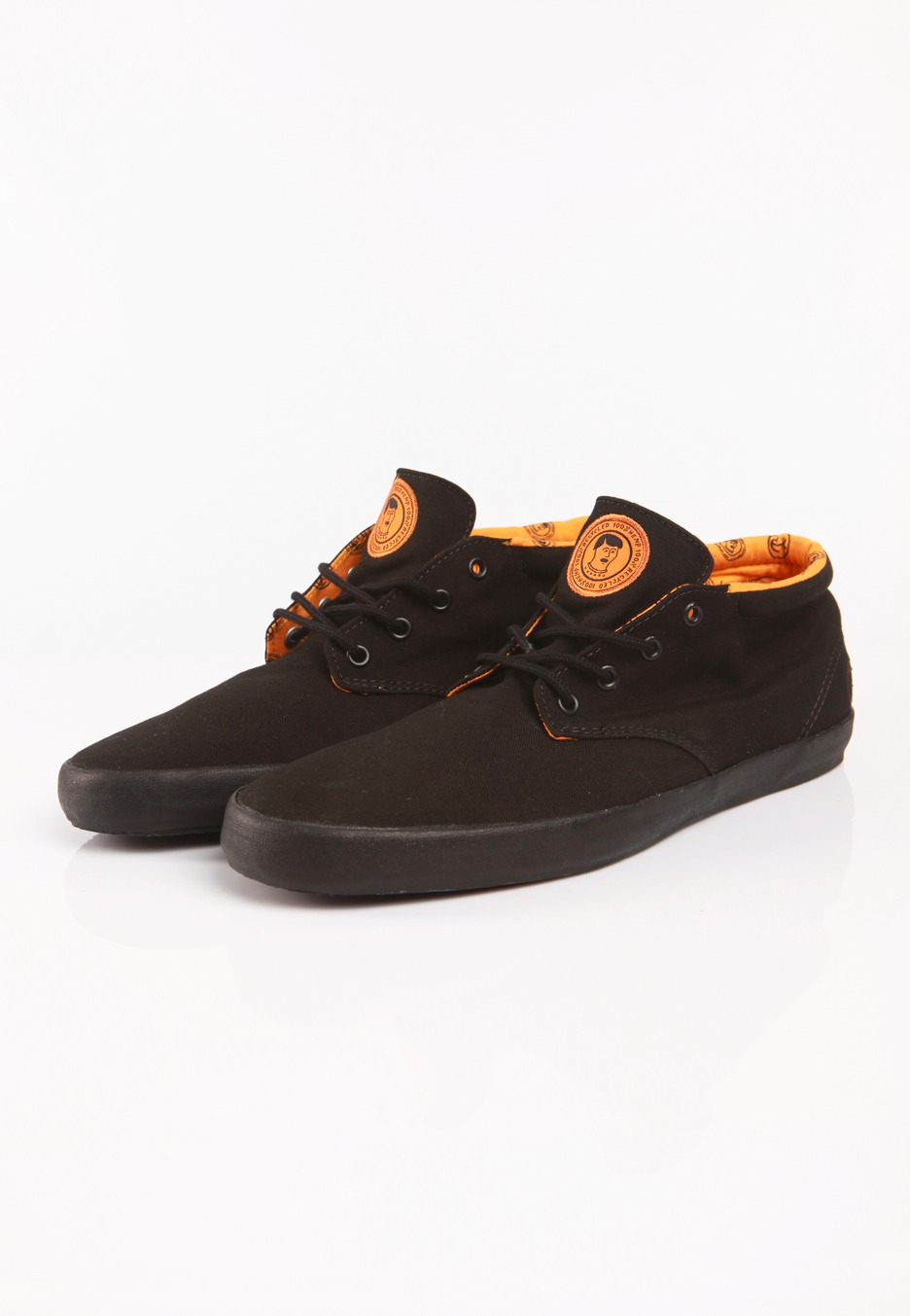 065b72cd50 ... Vans - Del Norte Captain Fin Black Radiant Yellow - Shoes ...