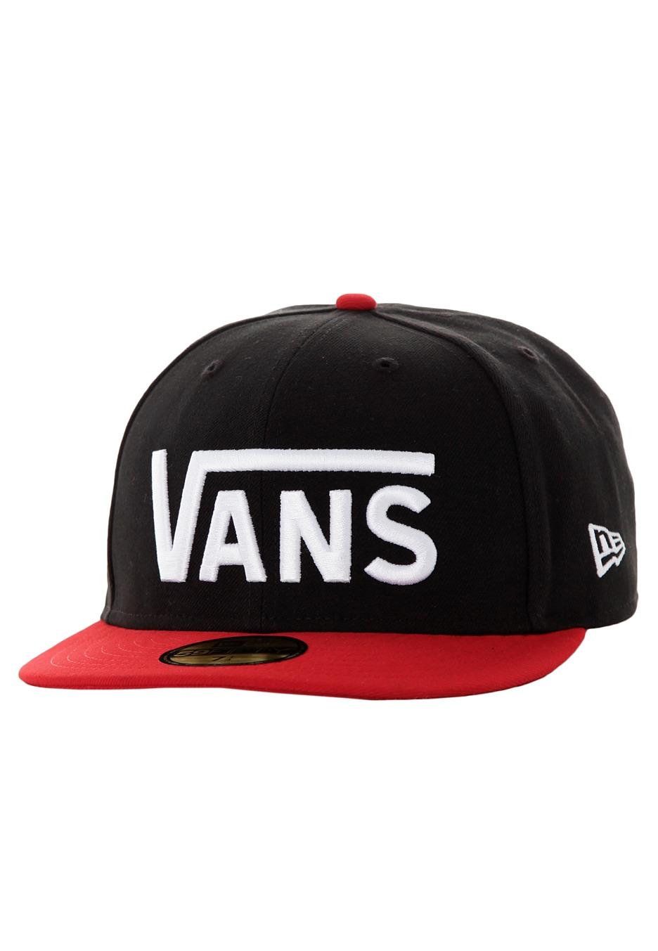 Vans - Drop V New Era Black Reinvent Red - Cap - Impericon.com UK e7ce1fec1d5