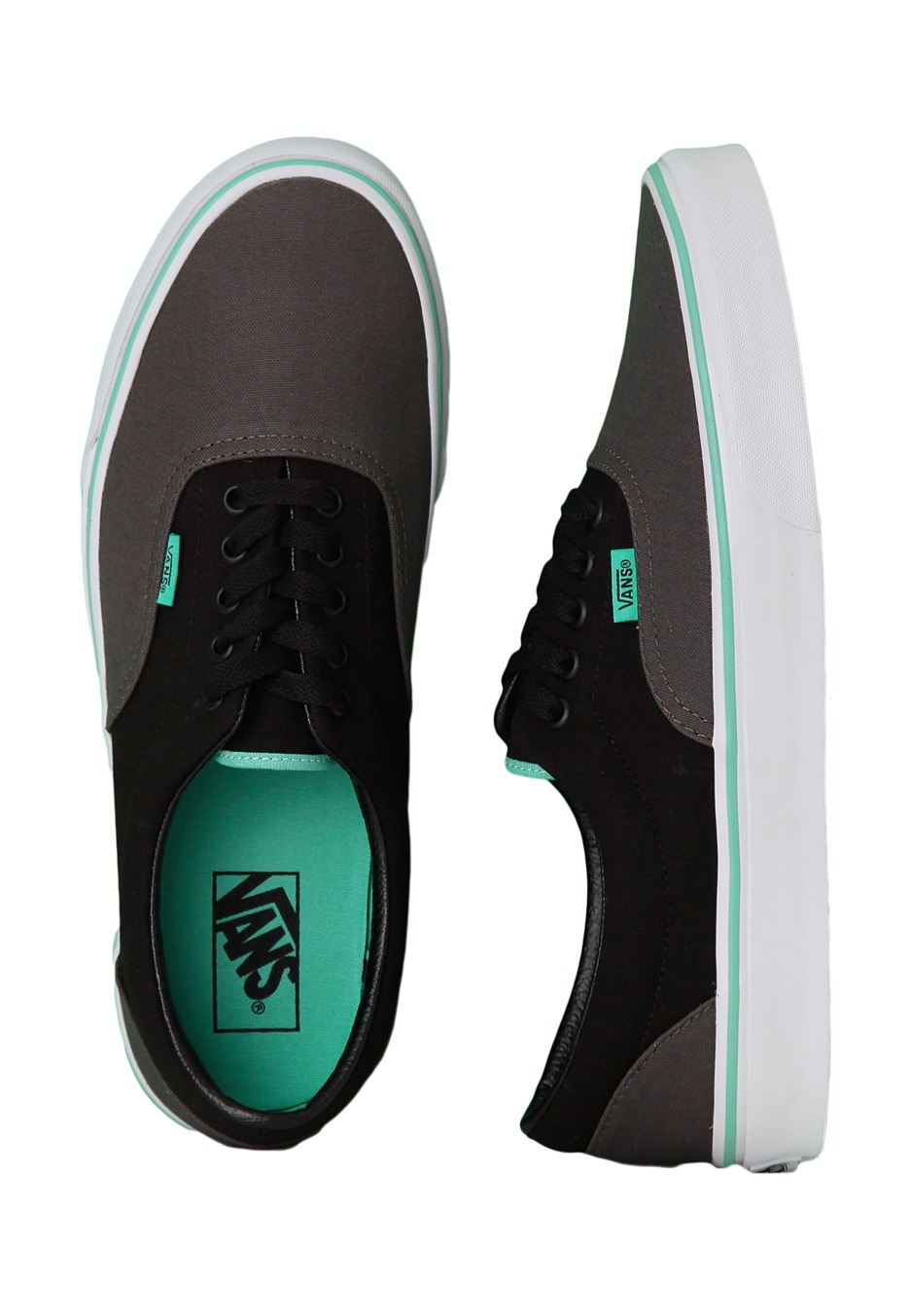 50dec5642681d4 Vans - Era 2 Tone Charcoal Black Biscay Green - Shoes - Impericon.com UK