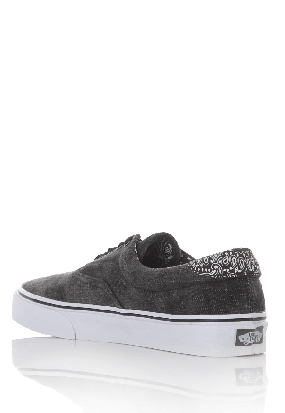 Vans - Era 59 Acid Denim Black Bandana - Shoes - Streetwear Shop ... 4fa493555