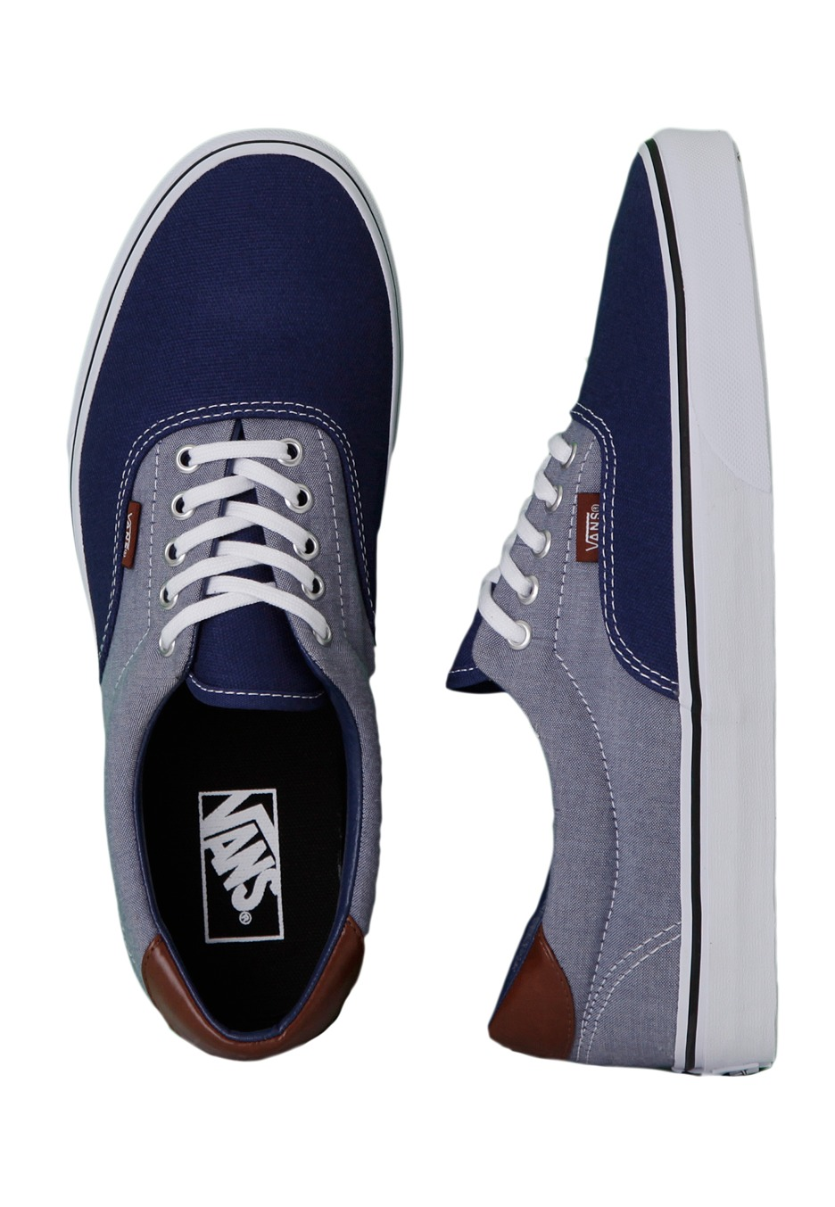 242cb1d125ee Vans - Era 59 Canvas   Chambray Estate Blue - Shoes - Impericon.com UK