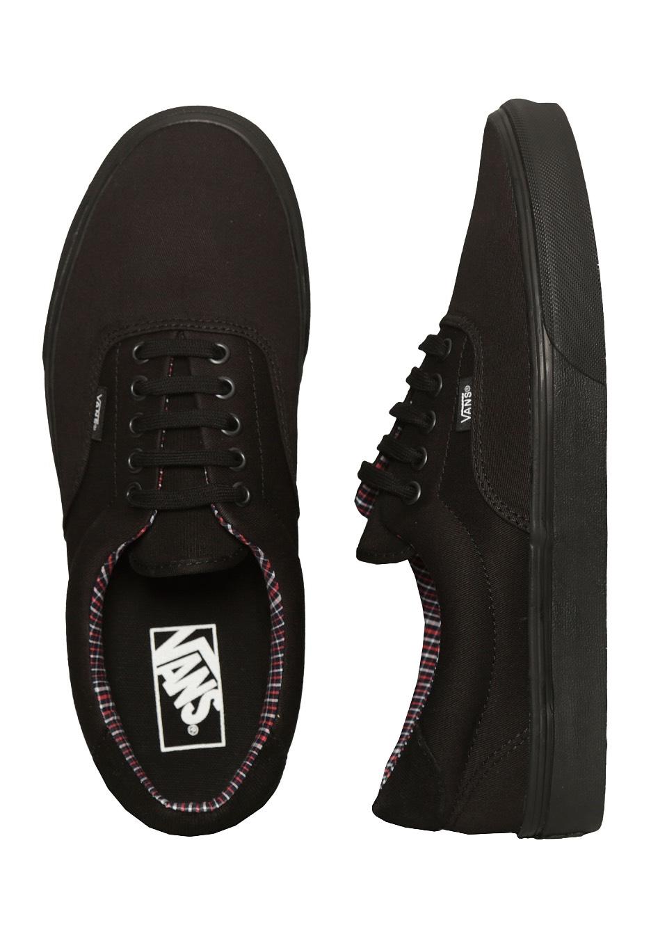 Vans - Era 59 Cord   Plaid Black Black - Shoes - Impericon.com UK 629d8f35c2