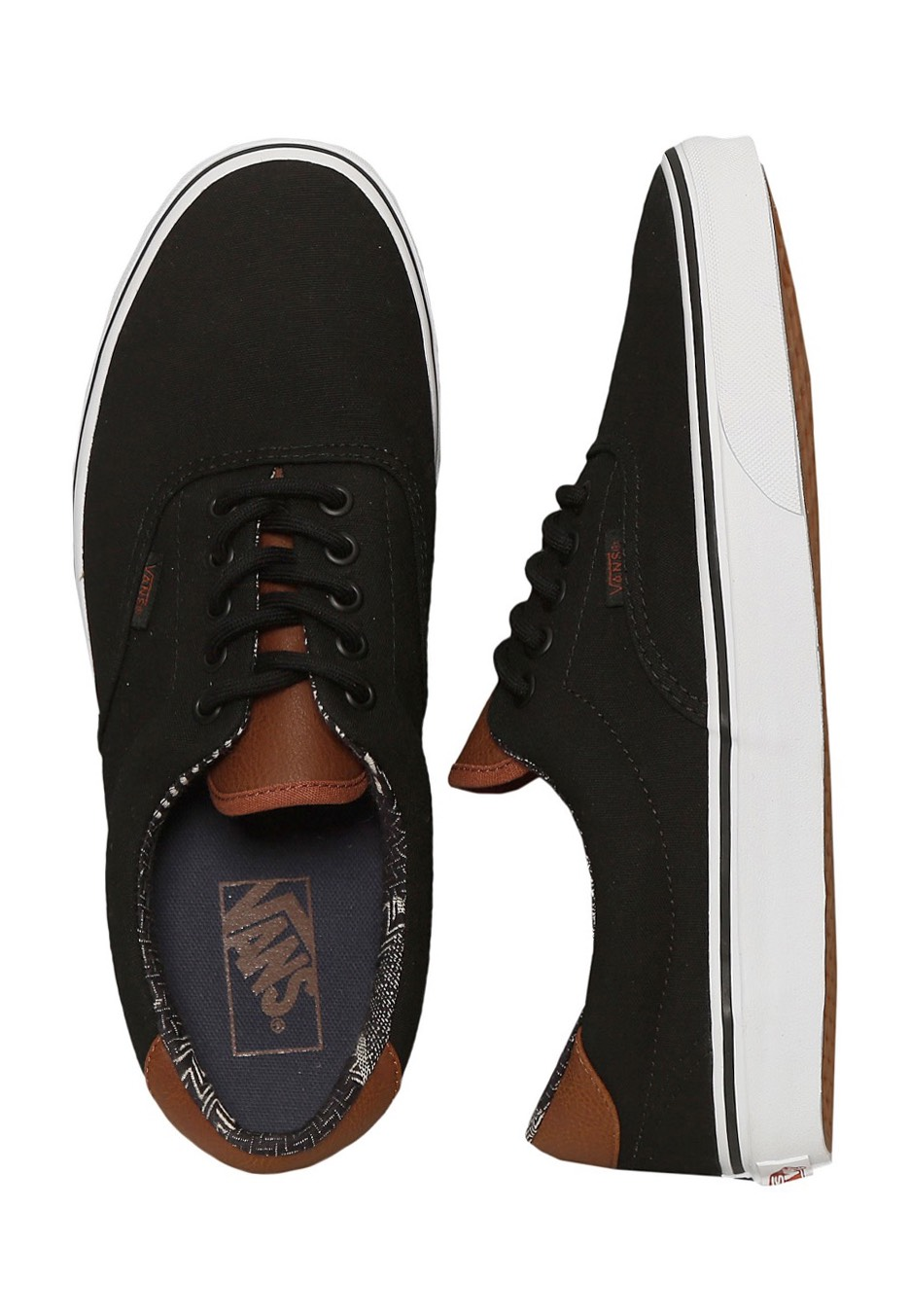 Vans - Era 59 C&L Black/Material Mix - Shoes