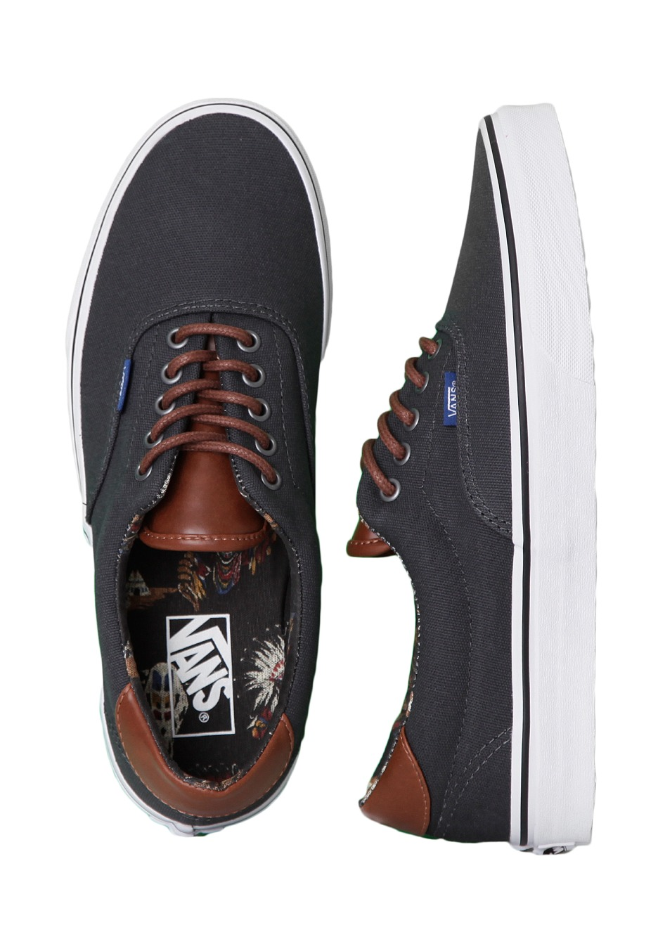 Vans - Era 59 C L Dark Shadow Tribal Leaders - Shoes - Impericon.com UK b4fa9daed8