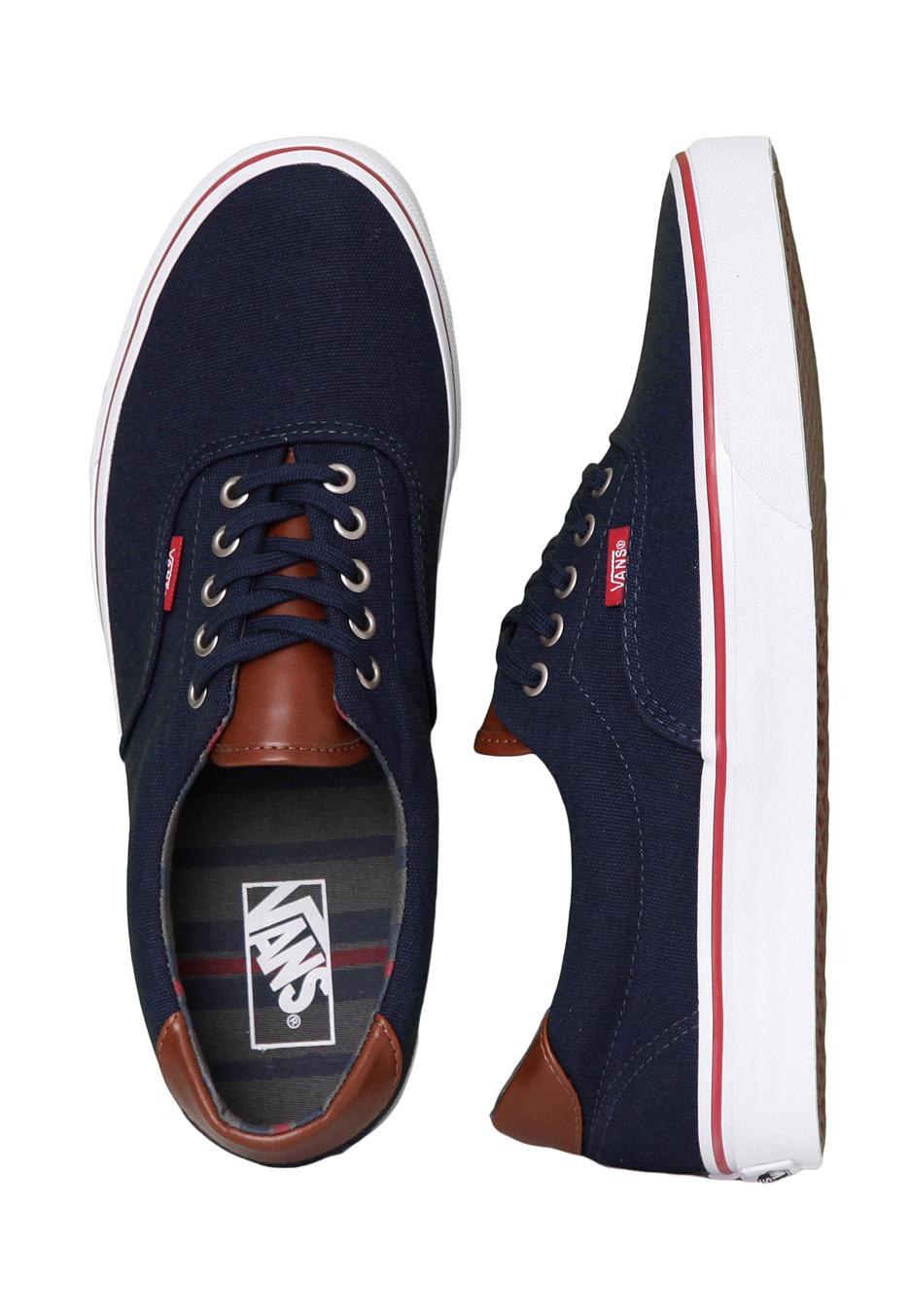 80c8288c1d Vans - Era 59 C L Navy Stripes - Shoes - Impericon.com UK