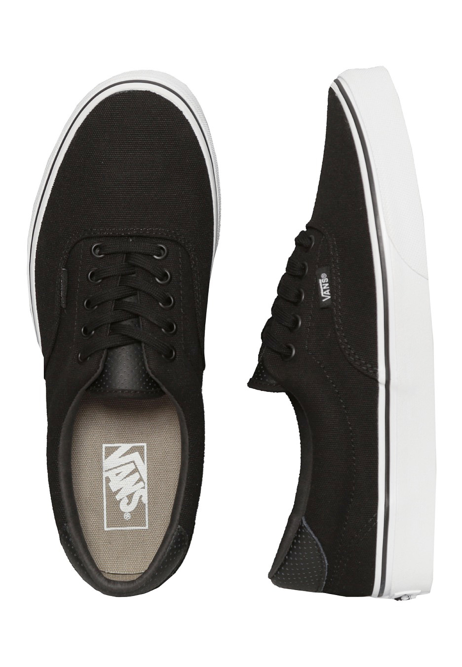 Vans - Era 59 C&P Black/True White - Shoes