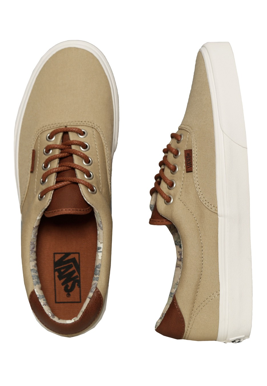 8812609815 Vans - Era 59 Desert Cowboy Khaki - Shoes - Impericon.com Worldwide
