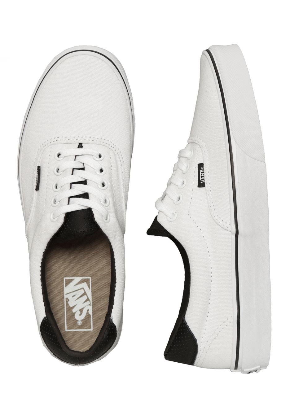 Vans - Era 59 C P True White Black - Shoes - Impericon.com UK eca9d37e07