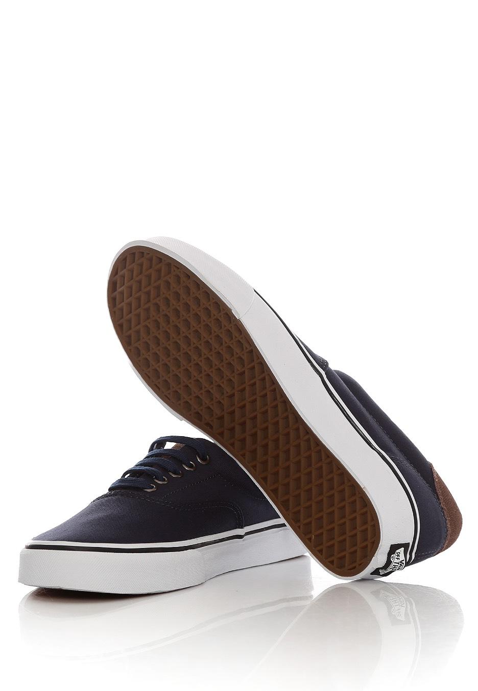 159c9aaa61017d ... Vans - Era 59 Cord   Plaid Dress Blues True White - Shoes ...