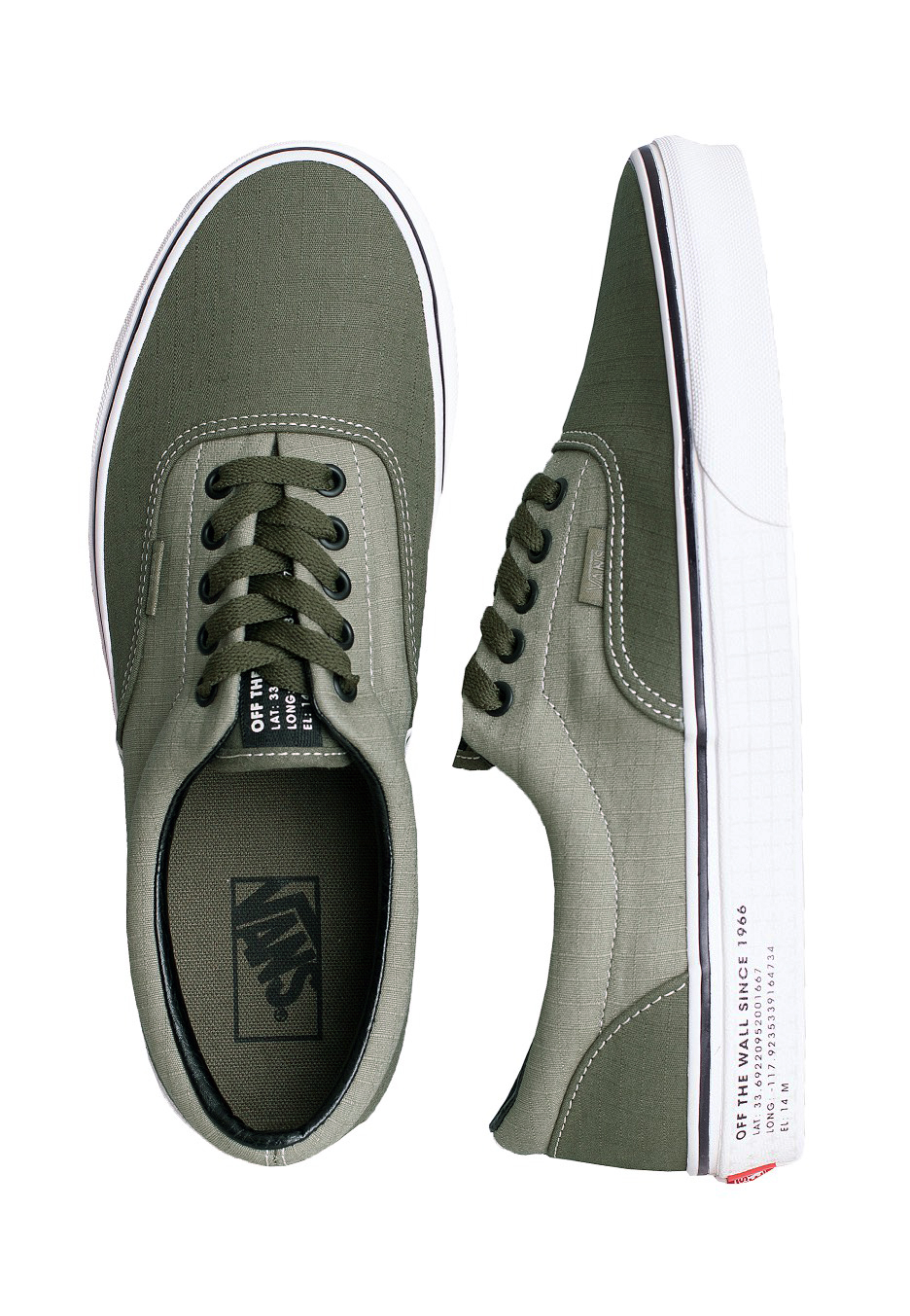 Vans - Era (66 Supply) Vetiver/Grape Leaf - Shoes - Impericon.com ...