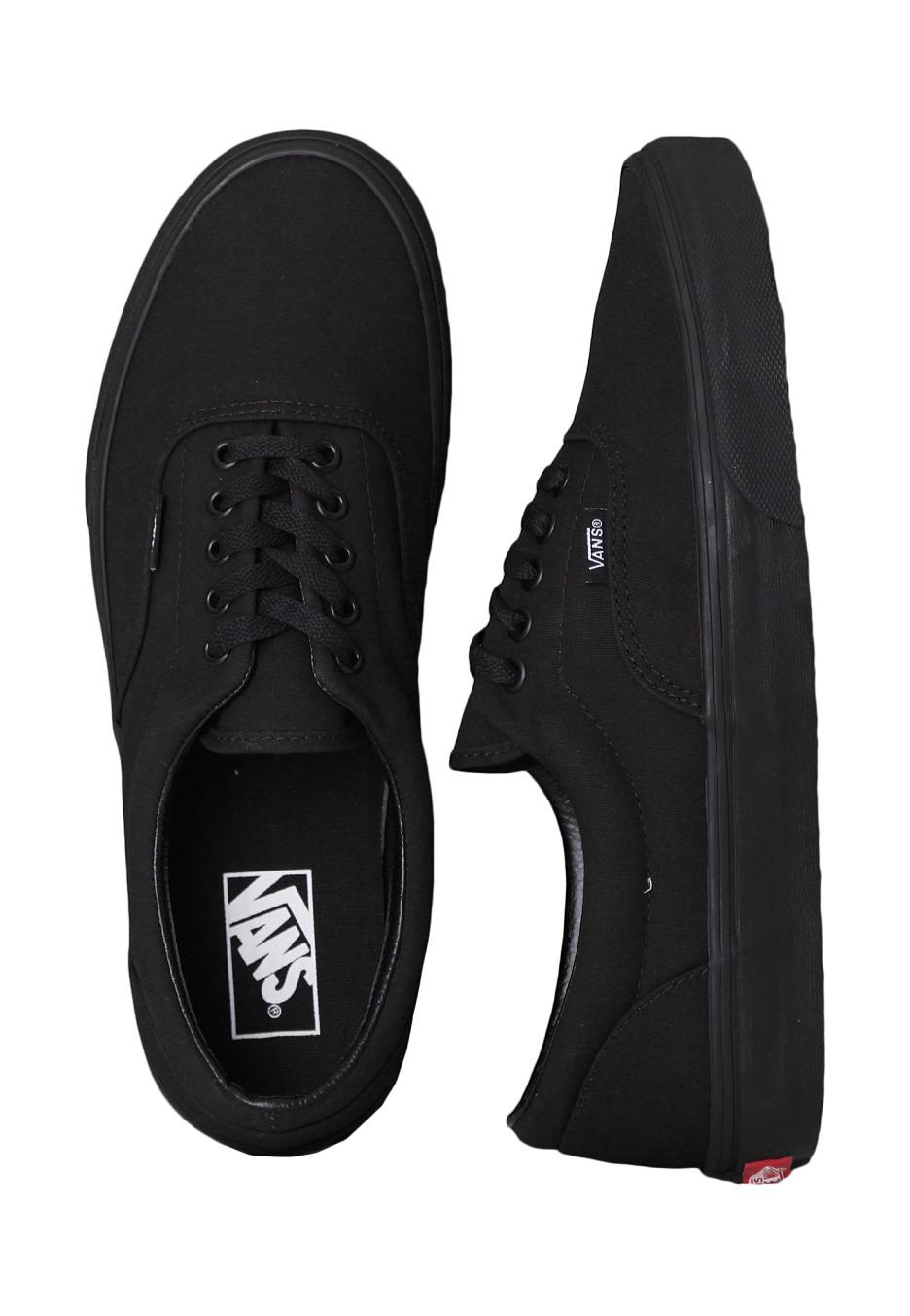 Vans - Era Black Black - Shoes - Impericon.com UK 8823861968