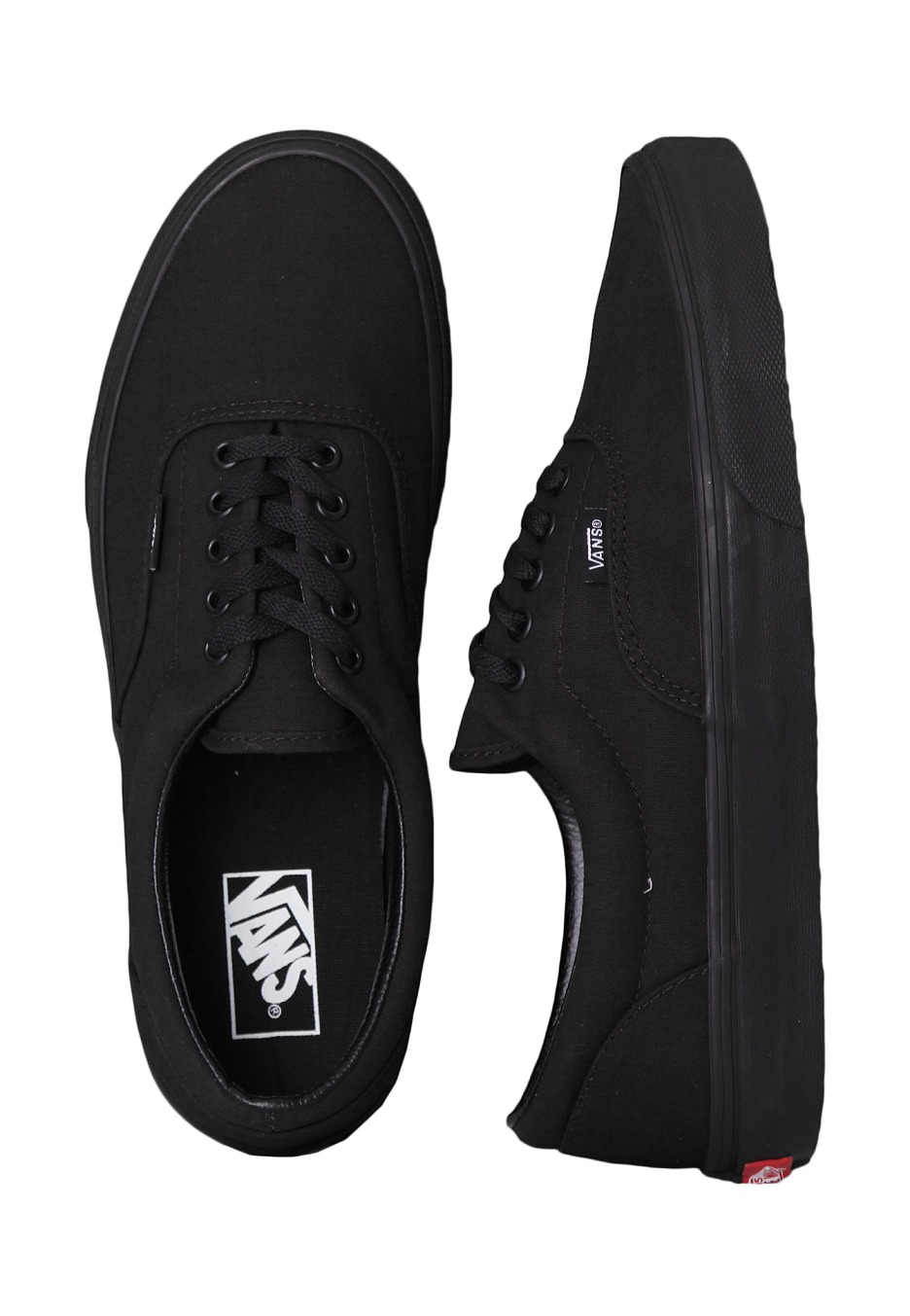 Vans - Era Black Black - Girl Shoes - Impericon.com UK e5d9d3eab