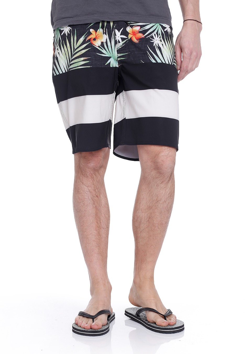 dd1a54fb70925 Vans - Era Black Decay Palm - Board Shorts - Impericon.com UK