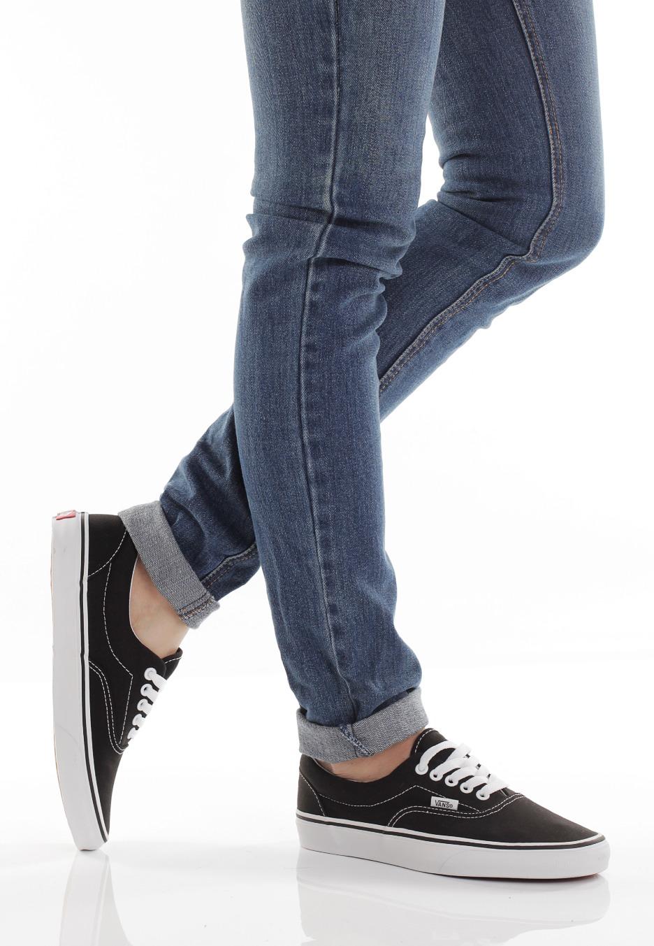 Vans - Era Black/White - Girl Shoes
