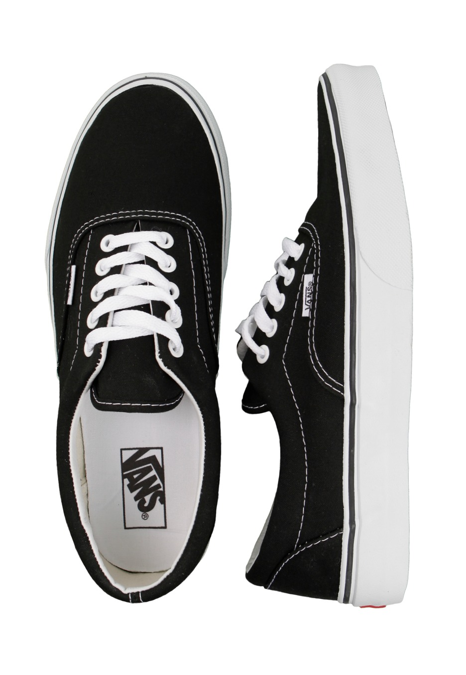 Vans - Era Black White - Shoes - Impericon.com UK 24cdef631