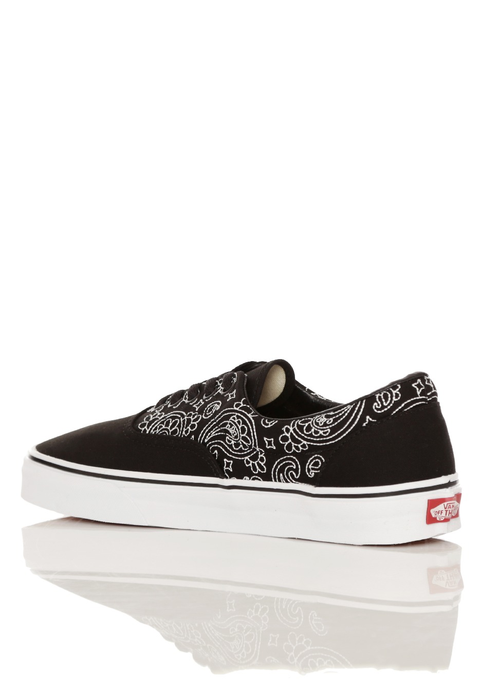 ... Vans - Era Bandana Stitch Black/True White - Shoes ...