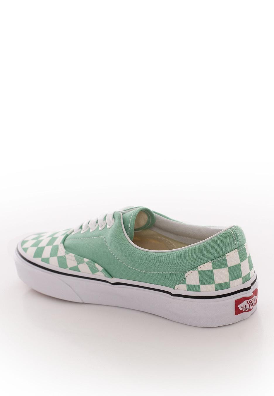 Vans - Era Checkerboard Neptune Green - Girl Shoes - Impericon.com AU 3f75efb13