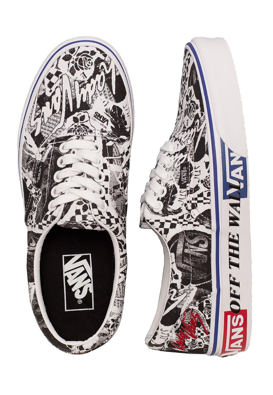 Vans Era Lady Vans WhiteTrue White Girl Schuhe