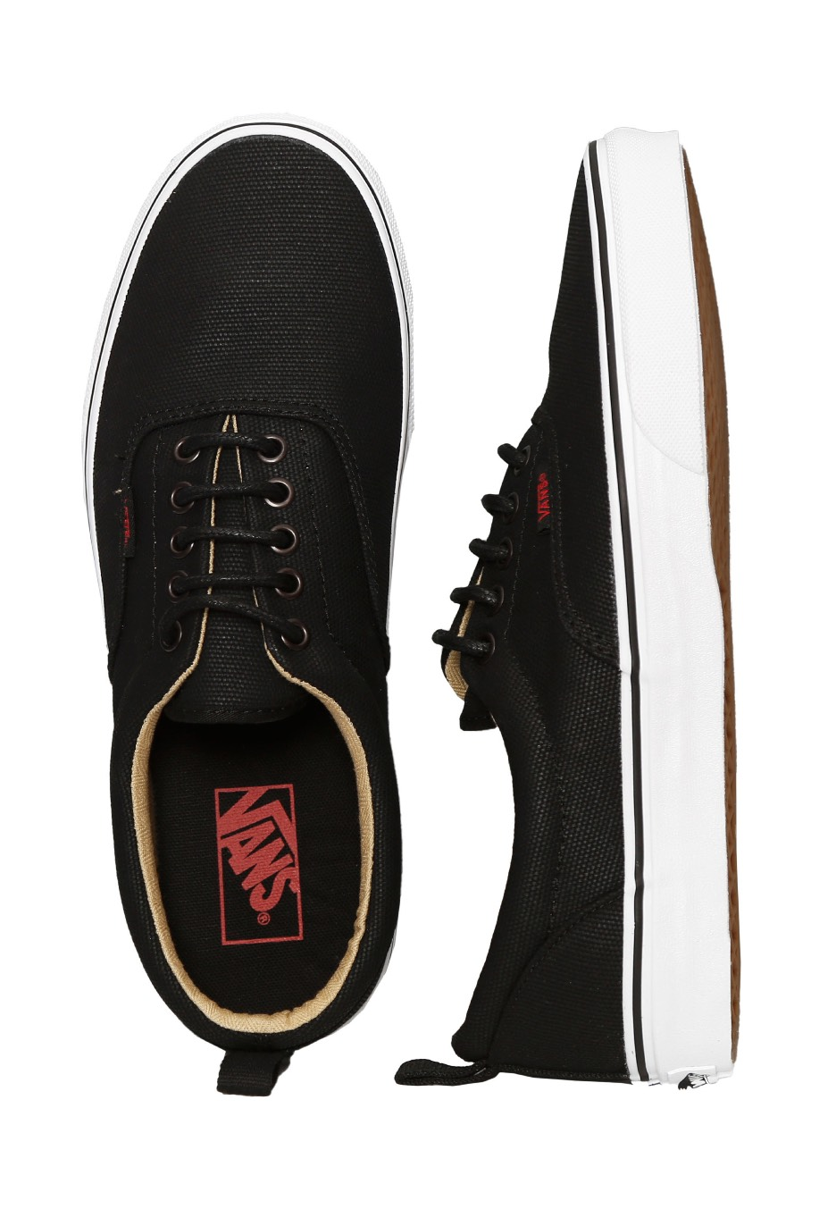 Vans - Era PT Military Twill Black True White - Girl Shoes - Impericon.com  UK 2de599bc9