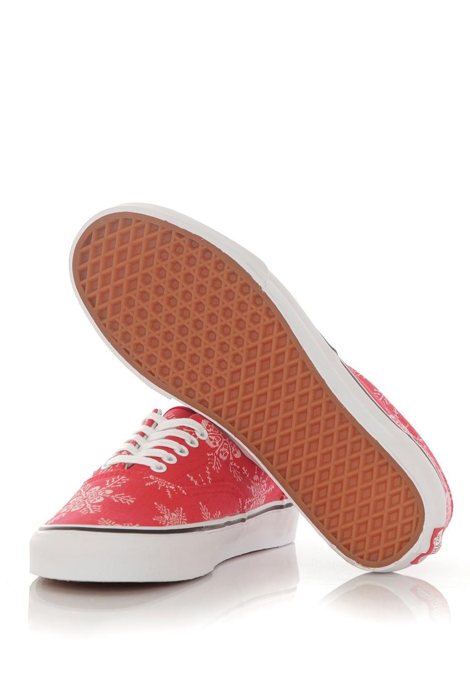 d714a9450753 Vans - Era Van Doren Skull Snowflake Racing Red - Shoes - Impericon ...