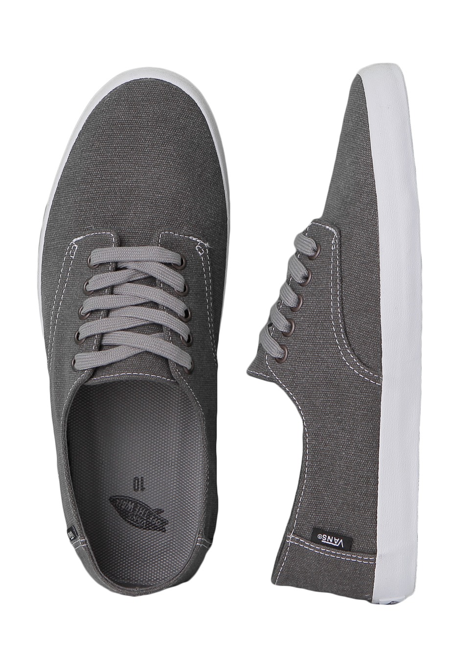 Vans Charcoal E Fr Street Chaussures Distressed K1clFJ