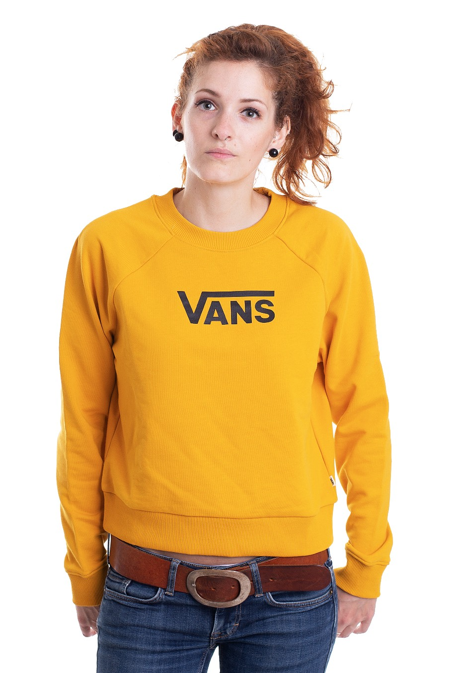 Vans Flying V Ft Boxy Crew Mango Mojito Sweater